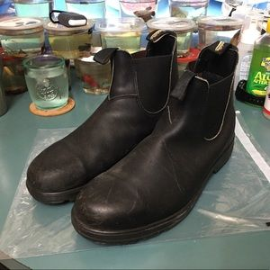 Blundstone Chelsea Boots 500 model black leather